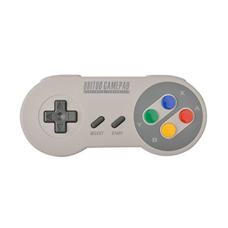 Manette Super Nintendo Snes SFC30 Bluetooth 8Bitdo pour Smartphone, Tablettes, PC, MAC (Android, Windows, iOS)