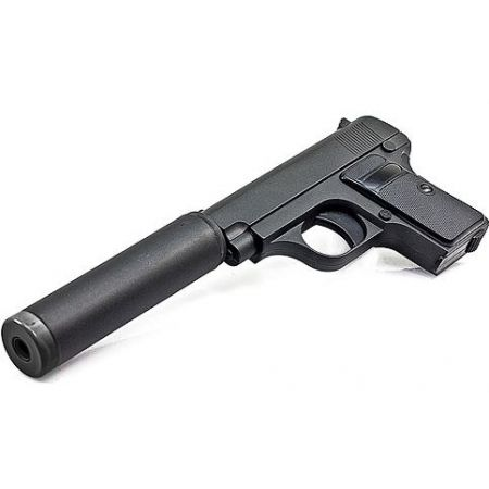 Pistolet � Billes Galaxy G1A Spring Full Metal + Silencieux (Type Colt 25) - PA-SP-5098