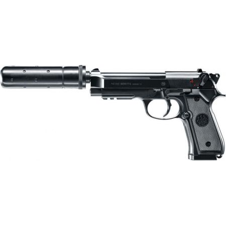 Pistolet Beretta MOD.92 A1 Tactical AEG Electrique + Silencieux - 25975
