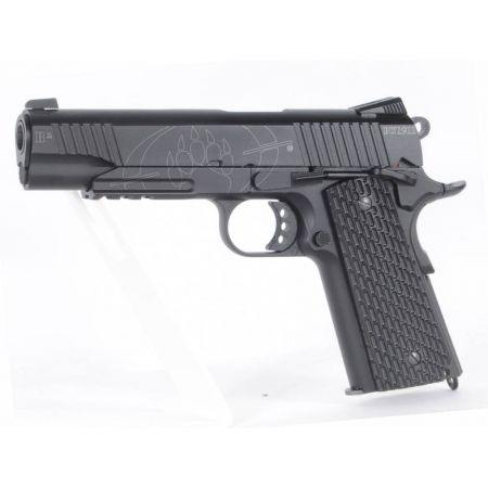 Pistolet CO2 Black Water BW 1911 R2 Full Metal KWC 250503