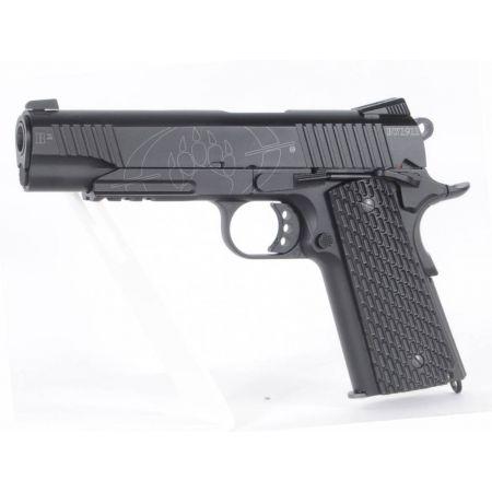 Pistolet CO2 Black Water BW 1911 R2 Full Metal KWC 250503