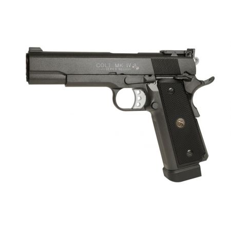 Pistolet Colt 1911 MK IV GBB Co2 Series 70 Full Metal Blow Back - 180518