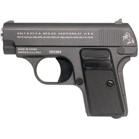 Pistolet Colt 25 Noir Spring Full Metal