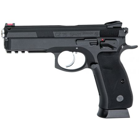 Pistolet CZ 75 CZ75 SP-01 Shadow GBB Gaz Blowback Full Metal Noir 18409