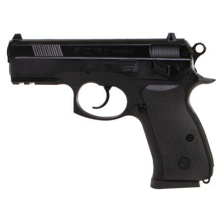 Pistolet CZ 75D Compact Spring Noir Hop Up Metal 15698