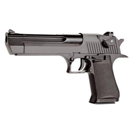 Pistolet Desert Eagle 50AE CO2 Noir - Metal & Blowback - KCB-51AHN