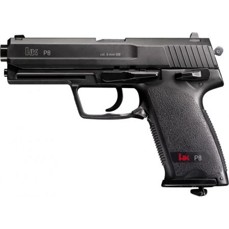Pistolet HK USP P8 Co2 Umarex (Heckler & Koch H&K) 2 Joules Noir 25617
