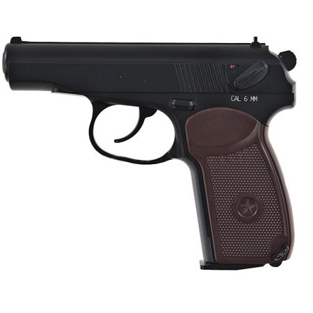 Pistolet KWC Makarov MP654K PM Co2 NBB Full Metal Noir - KC-44DHN