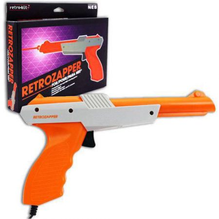 Pistolet RETROZAPPER Nes - Zapper - Famicom Light Gun - ANES0912