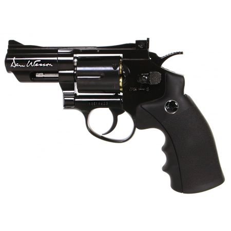 Pistolet Revolver Dan Wesson 2.5 Noir Co2 Full Metal 17505