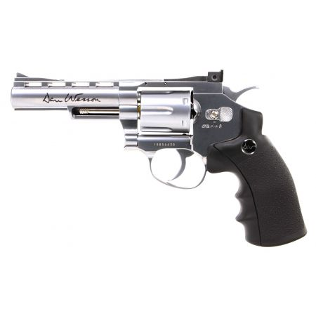 Pistolet Revolver Dan Wesson 4 Silver Co2 Full Metal 16181