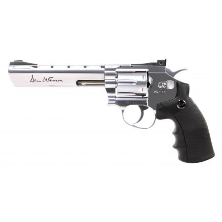 Pistolet Revolver Dan Wesson 6 Silver Co2 Full Metal 17479