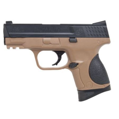 Pistolet Smith et Wesson SW M&P MP9C MP 9C Spring Noir & Tan - 320134
