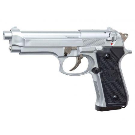 Pistolet Type M9 M92 M92F Gaz NBB STTI Silver - PA-GAZ-0258