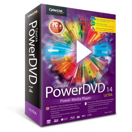 Power Dvd 14 Ultra Power Media Player Cyberlink Pc
