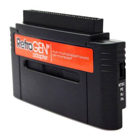 Retro Gen Adaptateur Console Super Nintendo