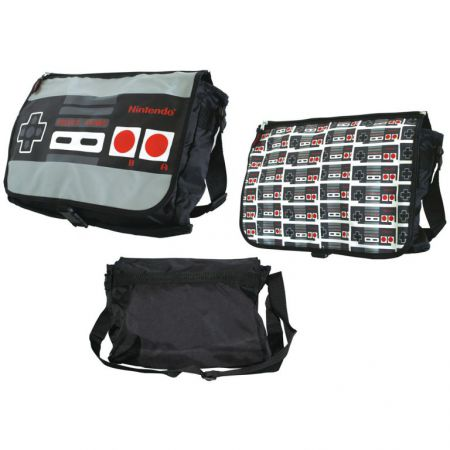 Sac Besace a Bandouli�re Noir Console Nintendo NES - PD-SAC-3244