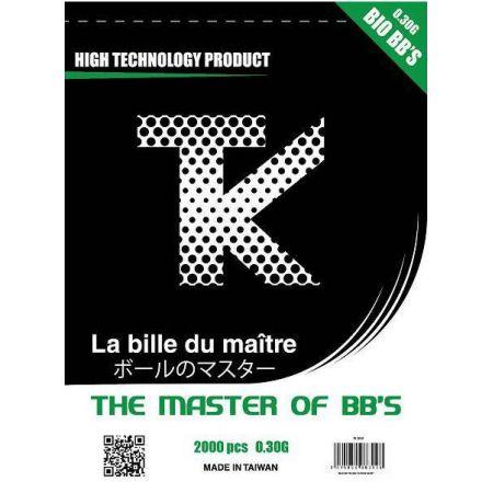 Sachet 2000 Billes (BBs) Bio 0.30g Tanio Koba TK - TK2030