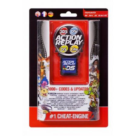 Action Replay Datel 3ds Dsi Dsixl Dslite Ds