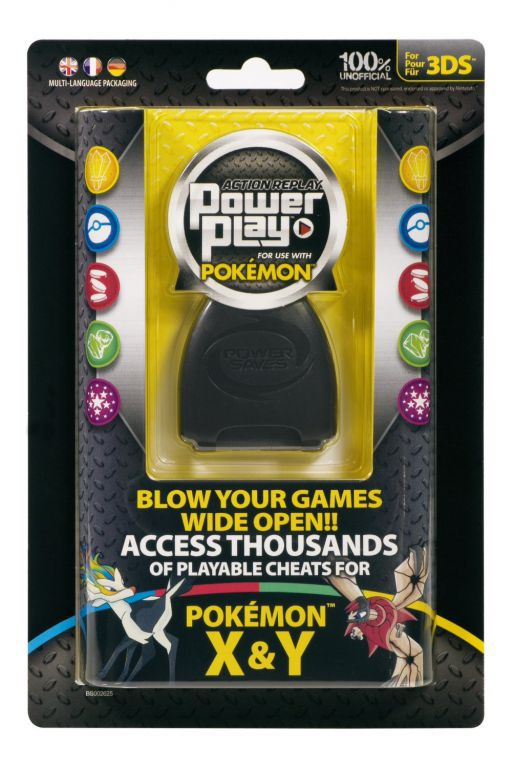Action Replay Power Play Pokemon - A3DS1302