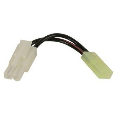 Adaptateur Connecteur Tamiya Pour Batteries Large vers Replique Mini - 603240