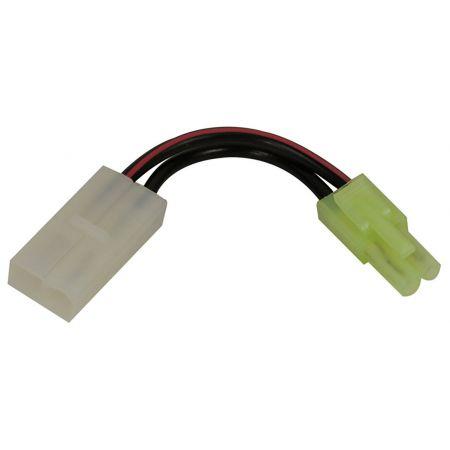 Adaptateur Connecteur Tamiya Pour Batteries Mini vers Replique Large - 603233