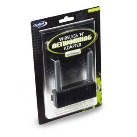 Adaptateur Reseau Sans Fil Wifi 300Mbps Blanc Datel Console Xbox 360