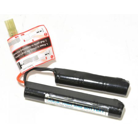 Batterie 8.4v - 1100mAh NiMH - Nunchuk (7 Elements) - Mini Tamiya - 603283