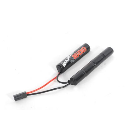 Batterie 8.4v - 1600mAh NiMH Swiss Arms By Intellect Crosse Crane (7 Elements) Airsoft AEG Electrique - 603246