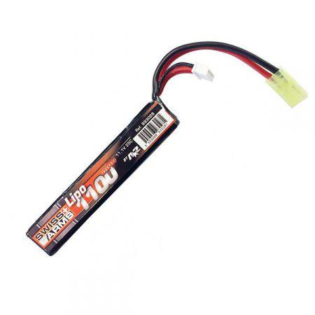 Batterie LI-PO (LiPO) 11.1v - 1100mAh - 25c - Swiss Arms - 693028