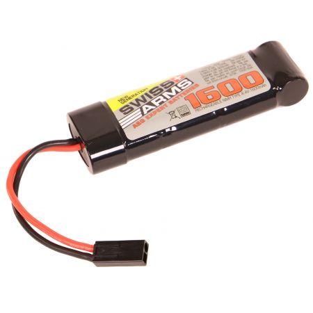 Batterie NiMH 8.4v - 1600mAh Type Mini - Mini Tamiya - Swiss Arms