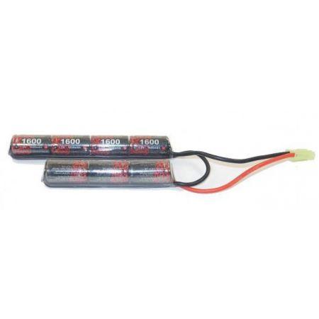 Batterie NiMH 8.4v - 1600mAh Type Nunchuck (7 éléments) - Mini Tamiya - Enrichpower