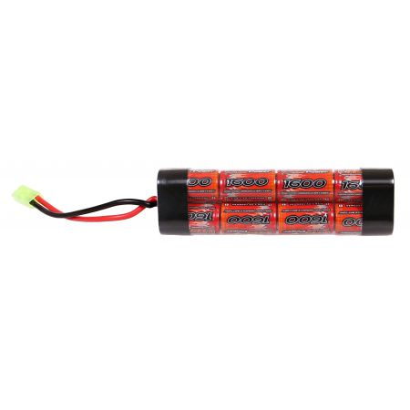 Batterie NiMH 9.6v - 1600mAh Type Mini (8 éléments) - Mini Tamiya - VB Power