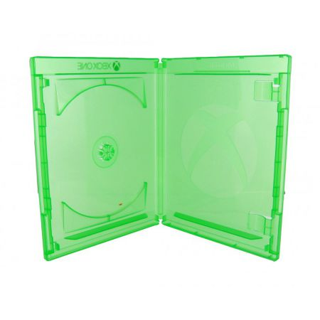 Boitier Jeu Xbox One Officiel Microsoft Vert Transparent - Jeu Video