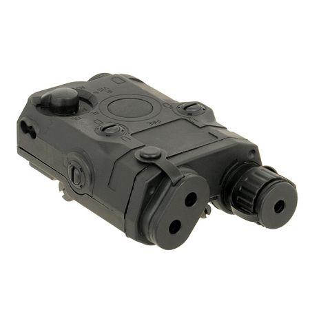 Boîtier PEQ AN/PEQ 15 Noir - Porte Batterie - NOIR