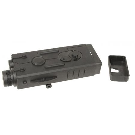 Boitier PEQ AN/PEQ Noir - Porte Batterie Replique AEG - Swiss Arms 603199
