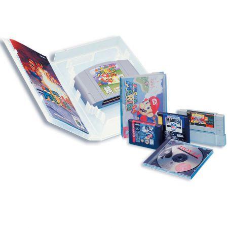 Boitier Universal Game Case - Super SNES / Nintendo / 64 / Sega MegaDrive