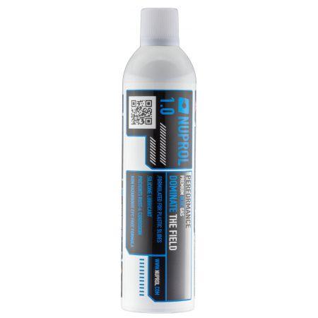 Bouteille GAZ Premium 1.0 avec Silicone Nuprol 420ml - Blanc