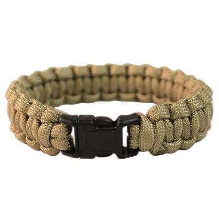 Bracelet de Survie en Paracorde Tan Miltec - 16370205