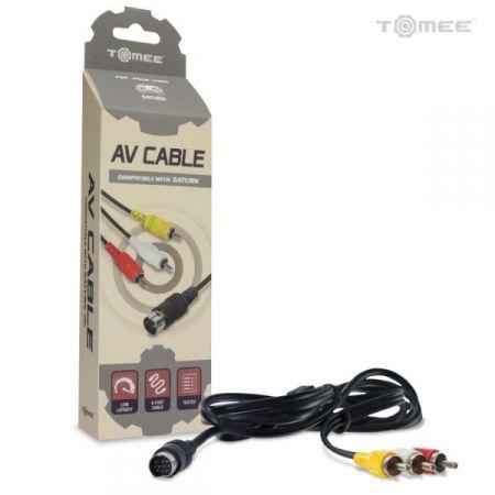 Cable 1m80 RCA Audio Video Console Sega Saturn - Tomee - ASAT1941