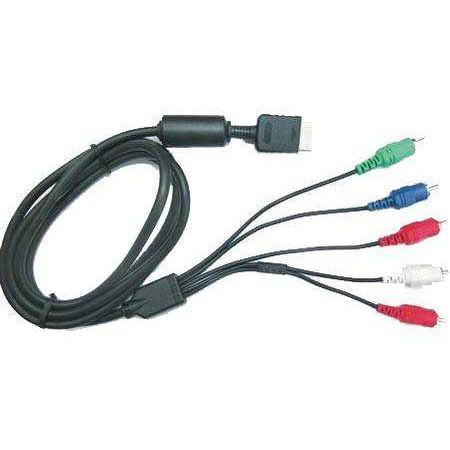 Cable HD YUV (connectique OR) Component Pour Console Ps3 et Ps2