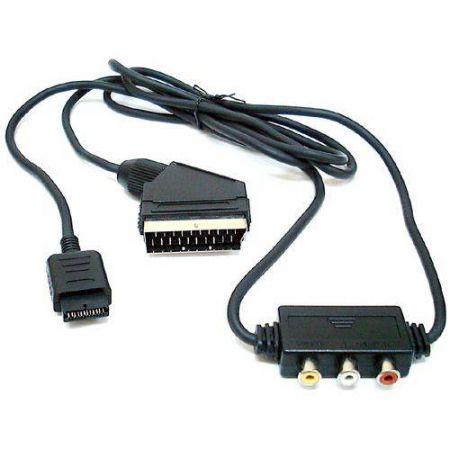 Câble péritel RGB pour console Ps3, Ps2 et Ps1 - 12490
