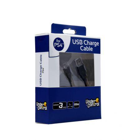 Câble USB vers Micro USB Pour Console & Manette PS4 (3m) - 1602