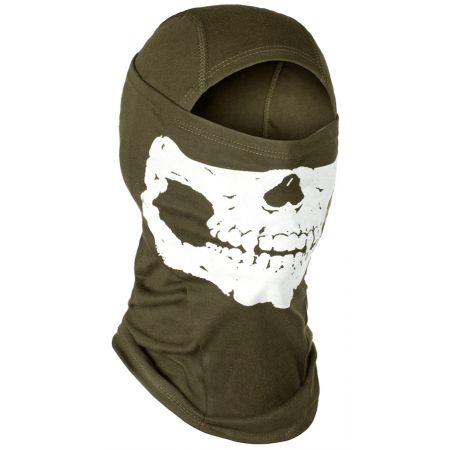 Cagoule Balaclava MPS Death Head Invader Gear - Olive