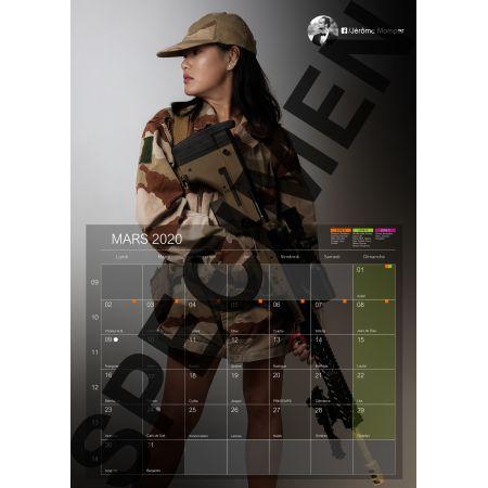 Calendrier 2020 Destockage-Games.com - Format Vertical à Spirale