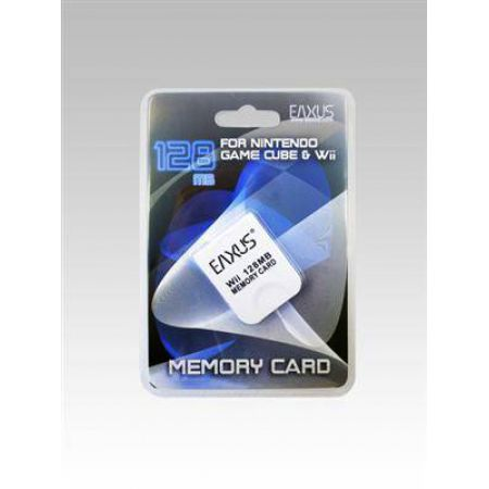 Carte Memoire 128mo GameCube (Compatible Wii) Eaxus