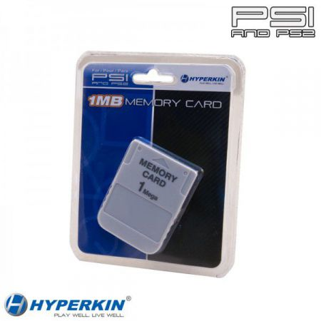 Carte Memoire - Memory Card PS1 Playstation 1Mo (15 Blocs)