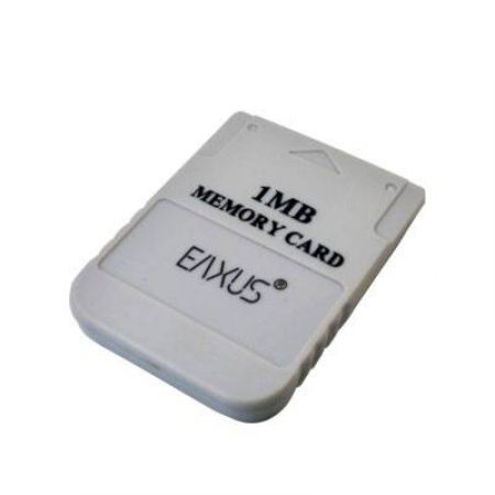Carte Memoire Playstation 1 1mb Eaxus