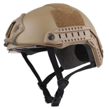 Casque Emerson Protection Fast Helmet avec Lunette - Tan - EM8820A
