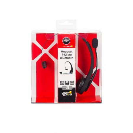 Casque + Micro Sans Fil Bluetooth Under Control Pour Ps3 - 1439